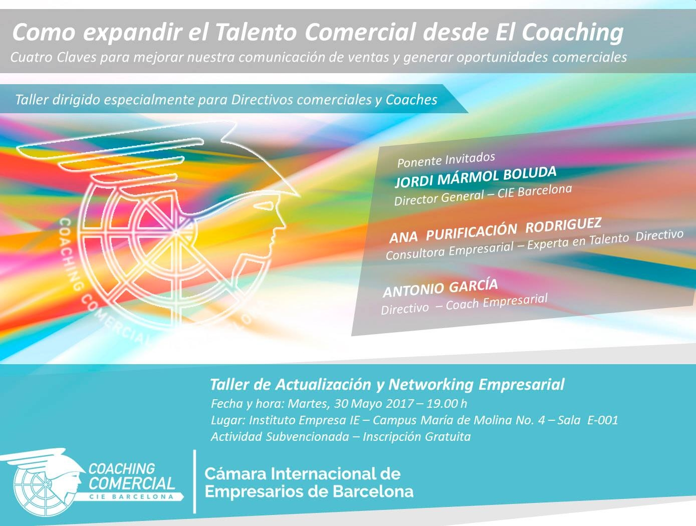 CIEBARCELONA LLEVA EL COACHING COMERCIAL AL INSTITUTO EMPRESA MADRID